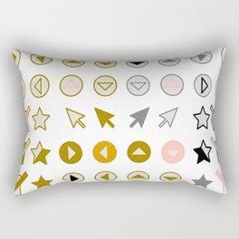 Symbology 3 Rectangular Pillow