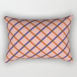 Bright Modern Grid Rectangular Pillow