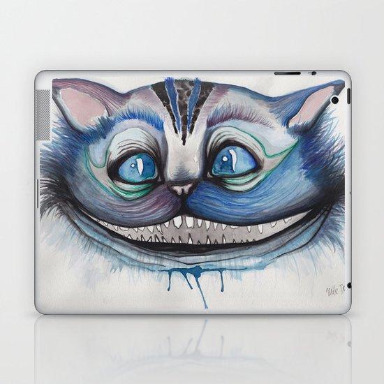 Cheshire Cat Grin - Alice in Wonderland Laptop & iPad Skin