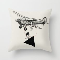 The Catcher Throw Pillow