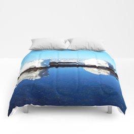 Baby Icebergs on the Tidal Shelf Comforters