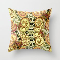 Clockwork. Throw Pillow