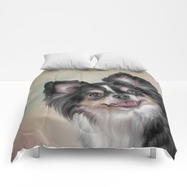 Drawing dog Chihuahua Comforters