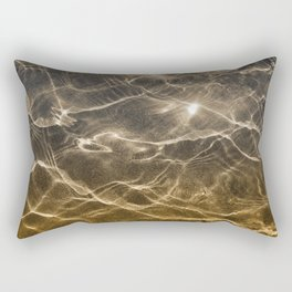golden reflection 0341 undewater sand Rectangular Pillow