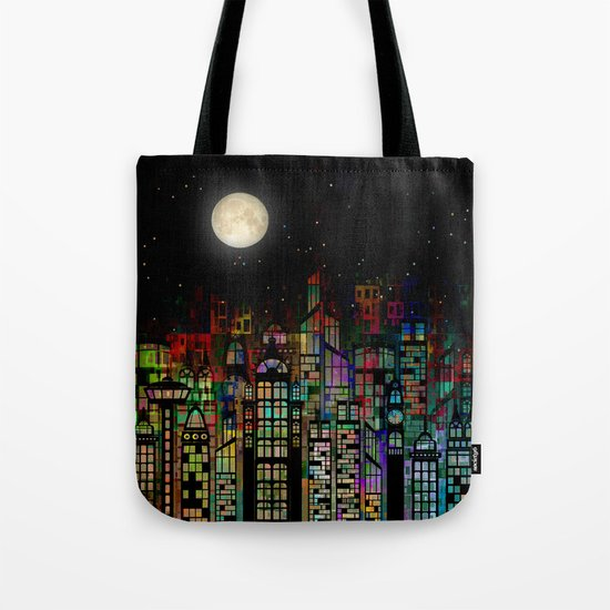 Fairytale City Tote Bag
