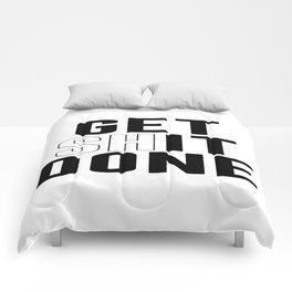 Get Shit Done, Wall Art Comforters