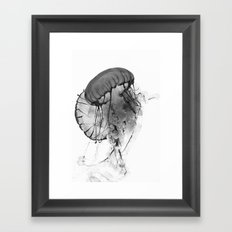 Dancing Jellies Framed Art Print