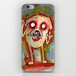 Jake the Zombie dog iPhone Skin
