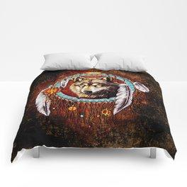 Wolf Dreamcatchers Comforters