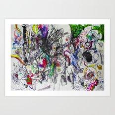 Angry Spirits of Arthur McDuffie Art Print