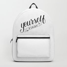 Yourself first Backpack