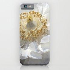 White Peony iPhone 6s Slim Case