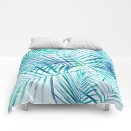 Tropical Palm Pattern Comforters