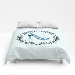 Cinderella' slipper Comforters