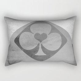 Full of Aces (Grey Version) Rectangular Pillow