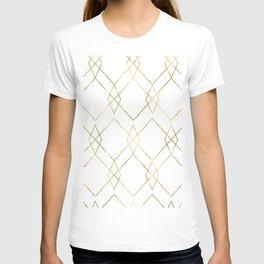 Gold Geometric T-shirt