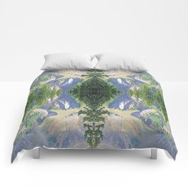 SWIFT CREEK HEADWATERS BELOW TABLE MOUNTAIN Comforters