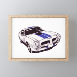 1970 Firebird Framed Mini Art Print