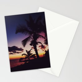 Summer Night Sunset Stationery Cards