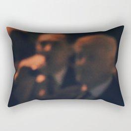 Business Dinner Rectangular Pillow