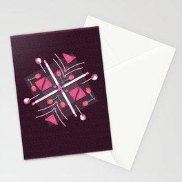Breast Cancer Survivor Kaleidoscope Art Stationery Cards