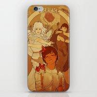 berserk iPhone & iPod Skins featuring Sacrifice by Marta Milczarek