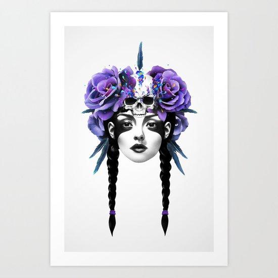 New Way Warrior Art Print