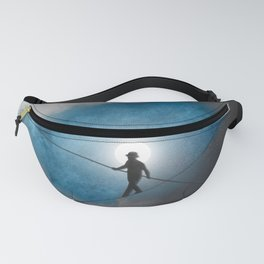 We walk a tightrope every day... Fanny Pack