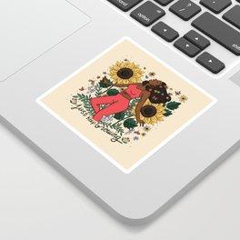 Keep Growing Sticker
