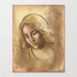 Renaissance Portrait Canvas Print