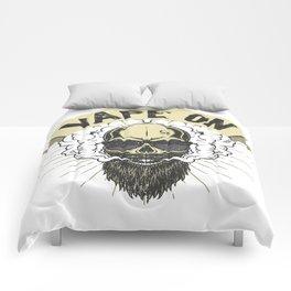 Cloud Chaser - Vaping Bearded Skull - Vape On Comforters