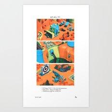 POP HELL #1 Art Print