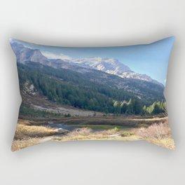 Grand Teton National Park Canyon Trail Rectangular Pillow