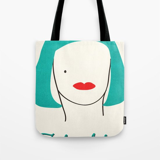 Teal Ambition Tote Bag