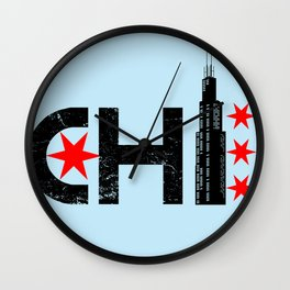 The Chi Wall Clock
