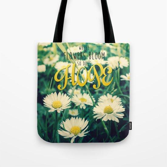 Blooming Daisies Tote Bag