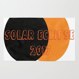 Solar 2017 Eclipse Rug