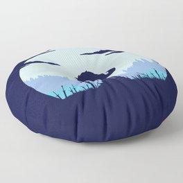 Grey Wolf Sif (Dark Souls) Floor Pillow