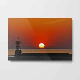 Another place Sunset Metal Print