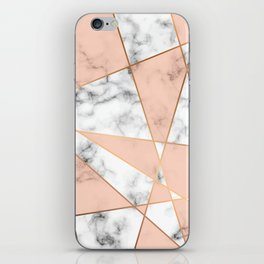 Marble Geometry 050 iPhone Skin