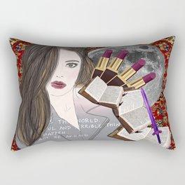 Intelligence and Beauty  Rectangular Pillow
