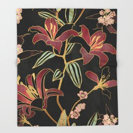 Lily Throw Blanket