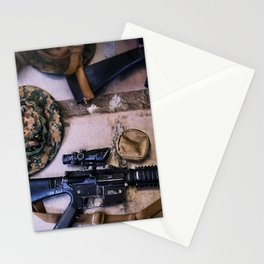A Marine's Best Friend Stationery Cards