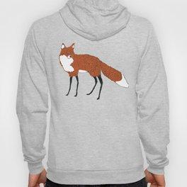 Fox in the snow, Kitsune, Vintage inspired illustration Hoody
