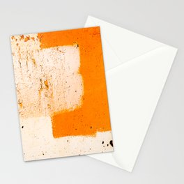 Stonewall in Pale Vermilion and Peach Stationery Cards