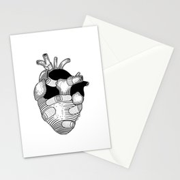 The strongest hearts have the most scars Stationery Cards