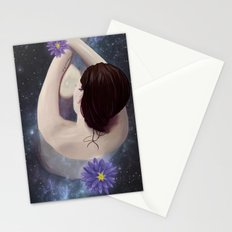 Her Tears Filled an Ocean of Eternity Stationery Cards
