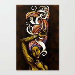 Elements - Fire Canvas Print