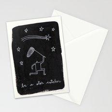 be a star catcher Stationery Cards