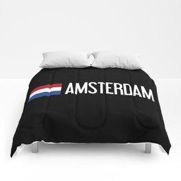 Netherlands: Dutch Flag & Amsterdam Comforters